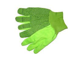10-Oz. Hi-Vis PVC Dots Cotton Gloves