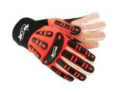 Jester® MX-Series Impact Glove Orange Dots