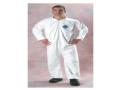 Tyvek® is made from 100% high density polyethylene, Tyvek® offers high strength and provides excellent barrier protection to many dry particulates as well as light splash situations.